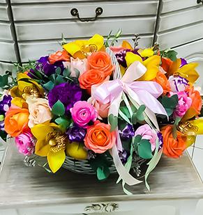 Цветочная корзина «Жарден»