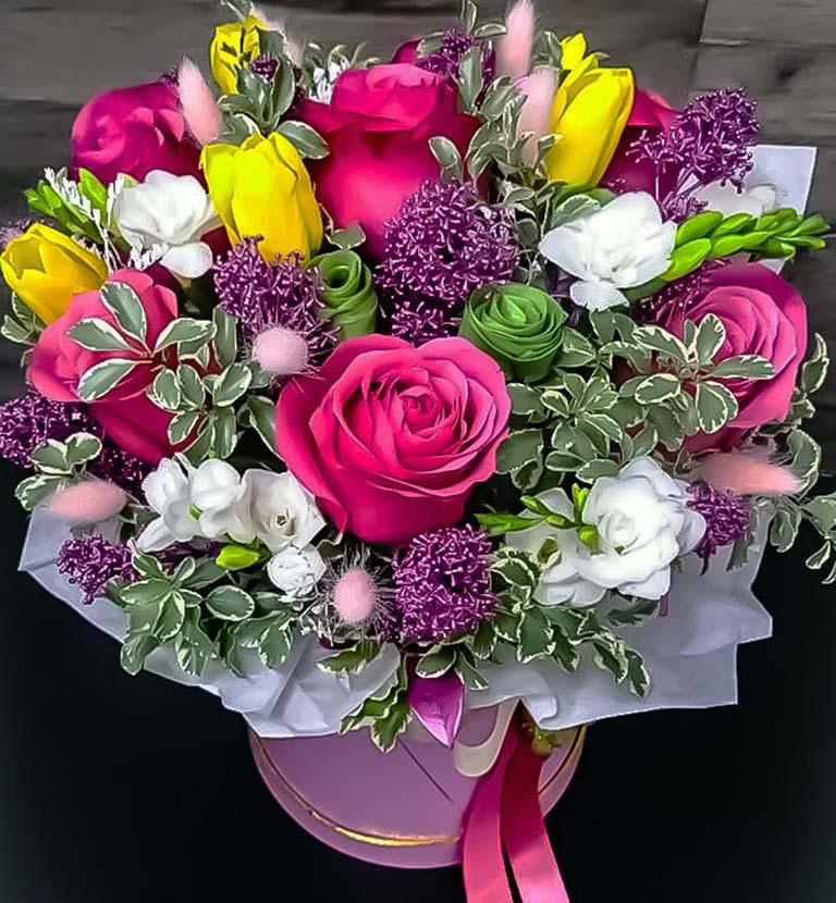 Коробка цветочная « Лаура»