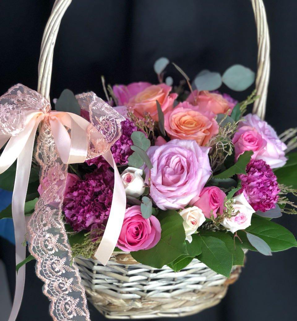 Корзина цветочная Презент