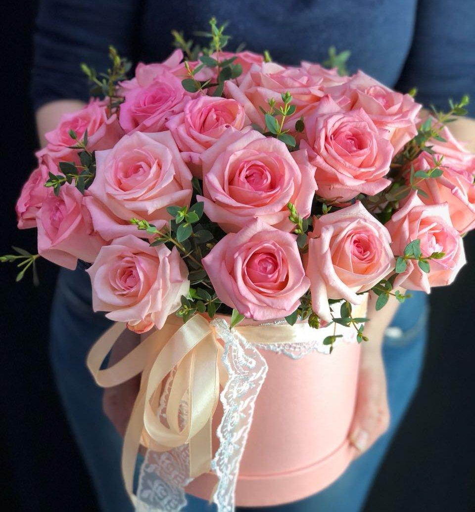 Коробка цветочная Ревивал