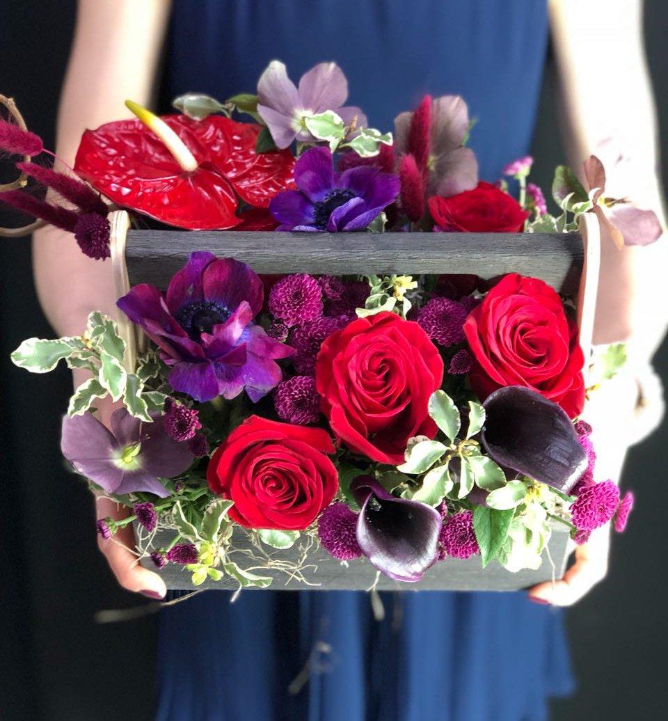 Цветочный ящик Для мужчины